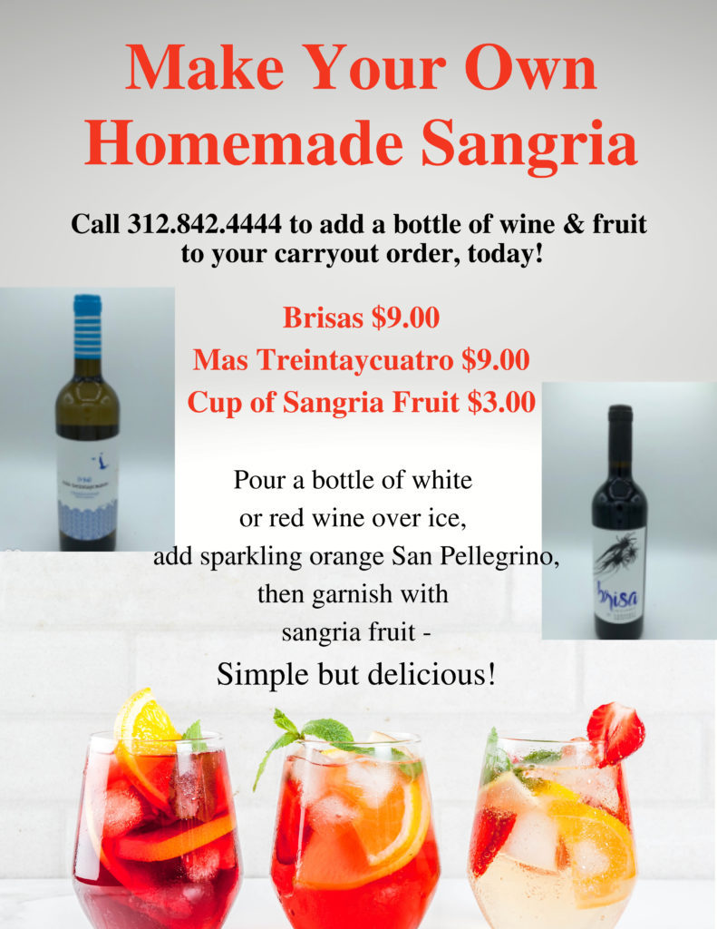 Make your own homemade sangria